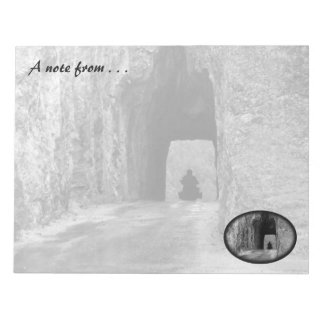 Needles Highway Tunnel Note Pad