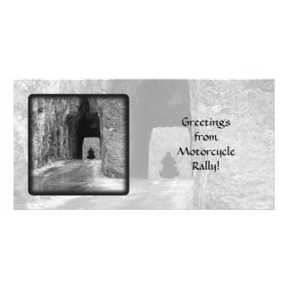 Needles Highway Tunnel Photo Card