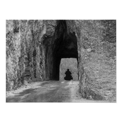 Needles Highway Tunnel Poster