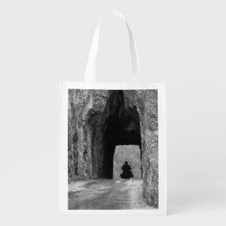Needles Highway Tunnel Reusable Grocery Bag