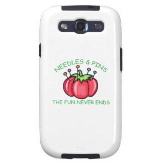 Needles & Pins The Fun Never Ends Galaxy S3 Cases
