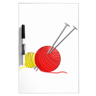 Needles & Yarn Dry-Erase Board