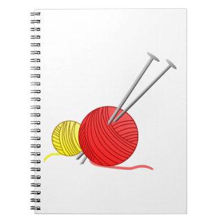 Needles & Yarn Spiral Notebook