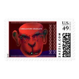 Needlework graduate stamps