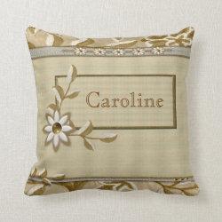 Needlework Personal Customised Pillow