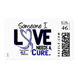 NEEDS A CURE 2 ALS POSTAGE STAMPS