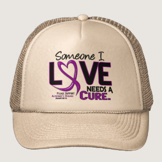 NEEDS A CURE 2 ALZHEIMER'S DISEASE TShirts & Gifts Trucker Hat
