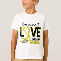 NEEDS A CURE 2 BLADDER CANCER T-Shirts & Gifts