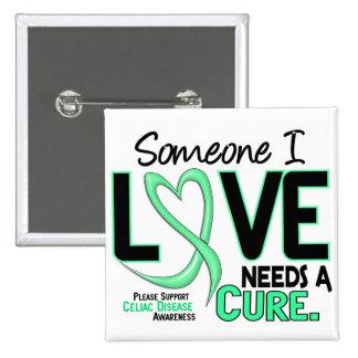 NEEDS A CURE 2 CELIAC DISEASE T-Shirts & Gifts Pin