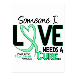 NEEDS A CURE 2 CELIAC DISEASE T-Shirts & Gifts Postcard