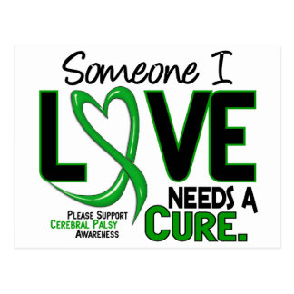 NEEDS A CURE 2 CEREBRAL PALSY T-Shirts & Gifts Postcard