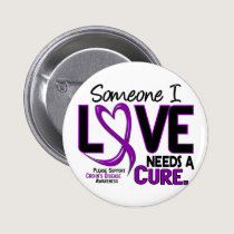 NEEDS A CURE 2 CROHN'S DISEASE T-Shirts & Gifts Pinback Button