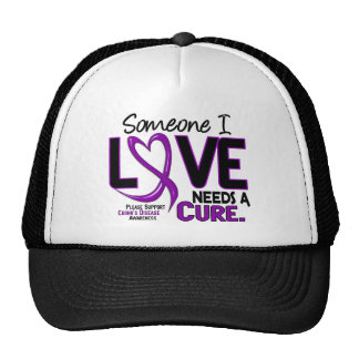 NEEDS A CURE 2 CROHN'S DISEASE T-Shirts & Gifts Trucker Hat