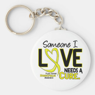 Needs A Cure 2 Hydrocephalus Basic Round Button Keychain