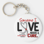 NEEDS A CURE 2 JUVENILE DIABETES T-Shirts & Gifts Basic Round Button Keychain