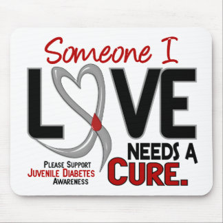 NEEDS A CURE 2 JUVENILE DIABETES T-Shirts & Gifts Mouse Pad