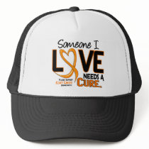 NEEDS A CURE 2 KIDNEY CANCER T-Shirts & Gifts Trucker Hat
