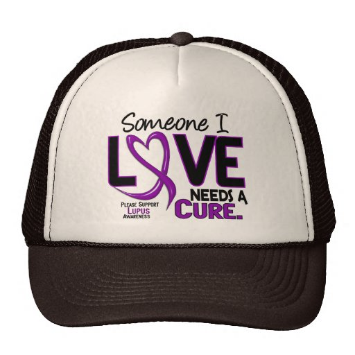 NEEDS A CURE 2 LUPUS T-Shirts & Gifts Trucker Hats