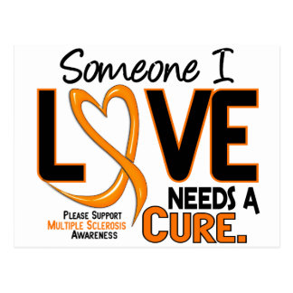 NEEDS A CURE 2 MS T-Shirts & Gifts Postcard