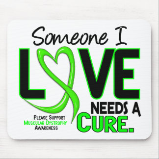 NEEDS A CURE 2 MUSCULAR DYSTROPHY T-Shirts Gifts Mouse Mats
