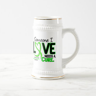NEEDS A CURE 2 MUSCULAR DYSTROPHY T-Shirts & Gifts 18 Oz Beer Stein