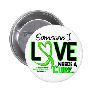 NEEDS A CURE 2 MUSCULAR DYSTROPHY T-Shirts & Gifts Pinback Button