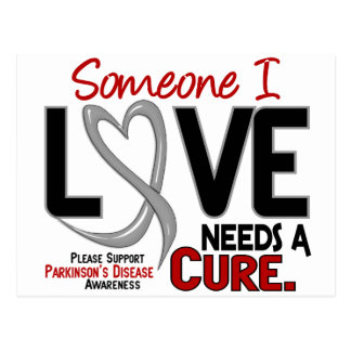 NEEDS A CURE 2 PARKINSON'S DISEASE T-Shirts & Gift Postcard
