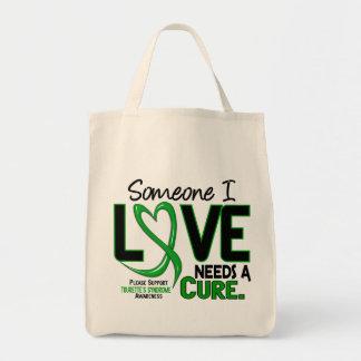 Needs A Cure 2 Tourette's Syndrome Bag