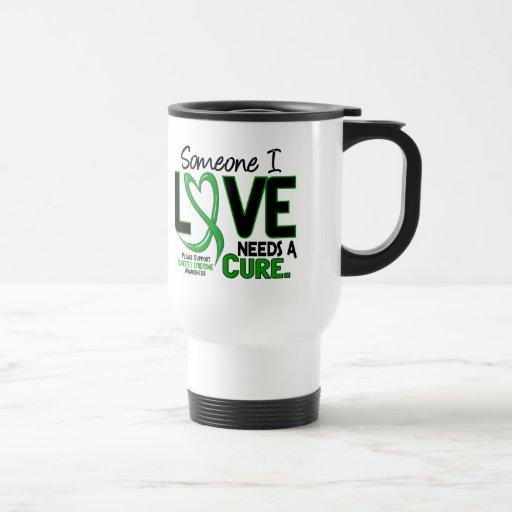 Needs A Cure 2 Tourette's Syndrome Coffee Mugs