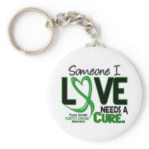 Needs A Cure 2 Tourette's Syndrome Keychain
