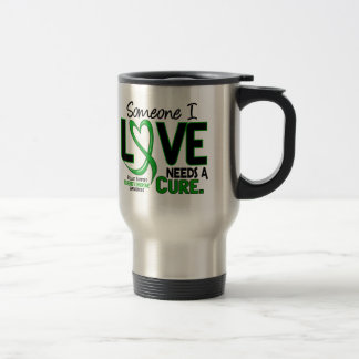 Needs A Cure 2 Tourette's Syndrome 15 Oz Stainless Steel Travel Mug