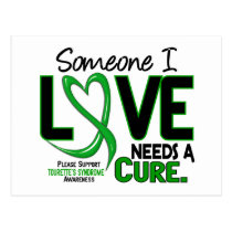 Needs A Cure 2 Tourette's Syndrome Postcard