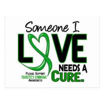 Needs A Cure 2 Tourette's Syndrome Postcard