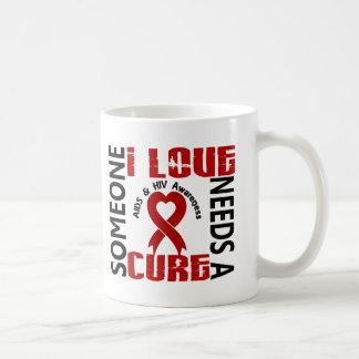 Needs A Cure 4 AIDS HIV Classic White Coffee Mug