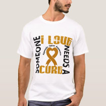 Needs A Cure 4 Appendix Cancer T-Shirt