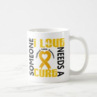 Needs A Cure 4 Childhood Cancer Coffee Mug