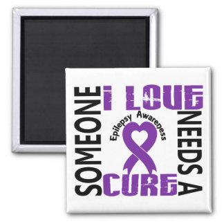 Needs A Cure 4 Epilepsy Fridge Magnets