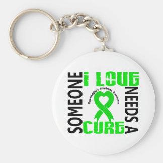 Needs A Cure 4 Lymphoma Non-Hodgkin's Keychain