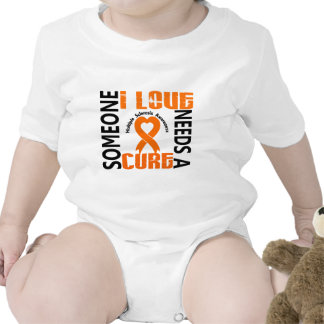 Needs A Cure 4 Multiple Sclerosis Baby Bodysuits