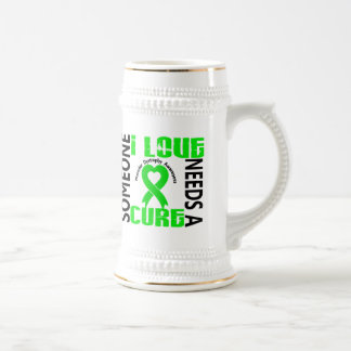 Needs A Cure 4 Muscular Dystrophy 18 Oz Beer Stein