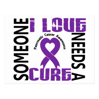 Needs A Cure 4 Pancreatic Cancer Postcard