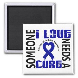 Needs A Cure 4 Rheumatoid Arthritis Magnet