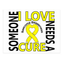 Needs A Cure 4 Sarcoma Postcard