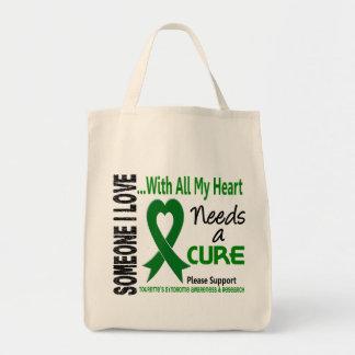 Needs A Cure Tourette's Syndrome Canvas Bag