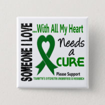 Needs A Cure Tourette's Syndrome Button