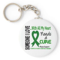 Needs A Cure Tourette's Syndrome Keychain