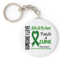 Needs A Cure Tourette's Syndrome Keychain