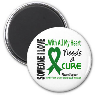 Needs A Cure Tourette's Syndrome Refrigerator Magnet
