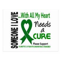 Needs A Cure Tourette's Syndrome Postcard