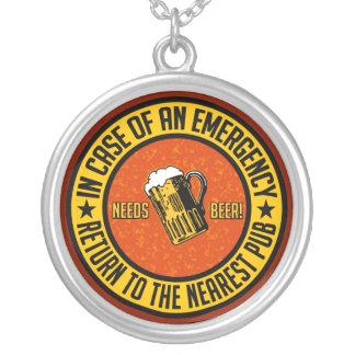 NEEDS BEER! necklace